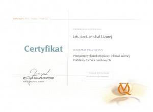 certyfikat - stomatolog